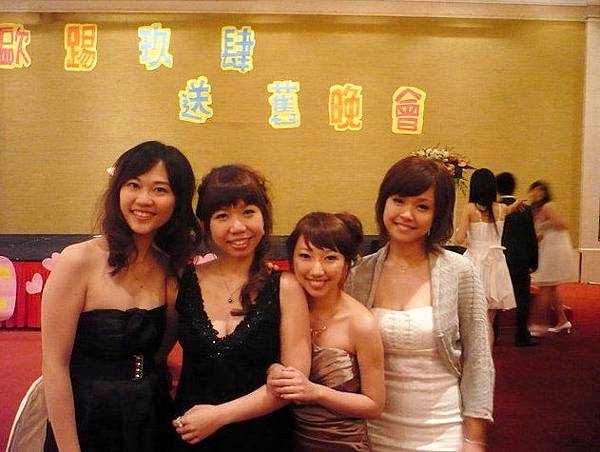 花媽、Joanne、Stella、Pam