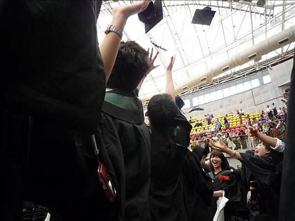 畢業典禮結束