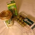 超市採買回來的還式抹茶製品