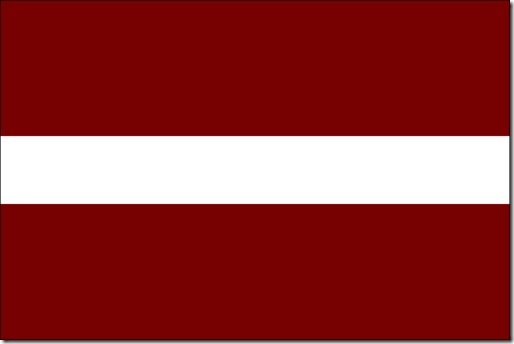 flag of latvia