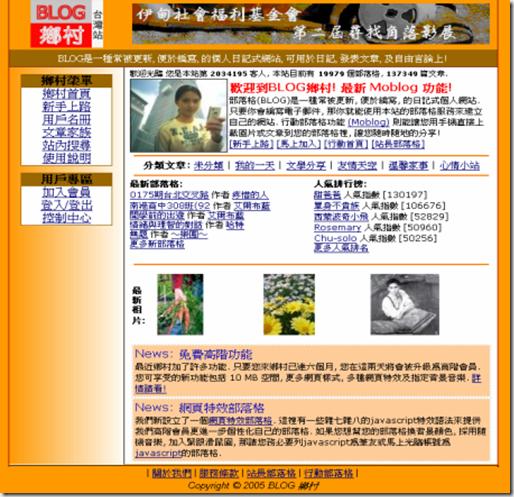 Blog鄉村台灣站