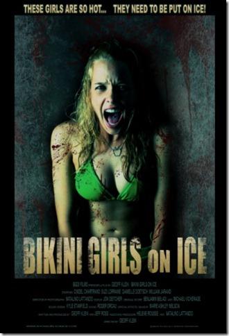 bikinigirlsonice