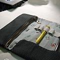 NO.19-藍與黑筆袋2010.03.26-3