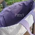 NO.36-夏日悠閒手提包-點點紫-2
