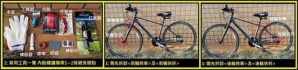 單車補換胎教學