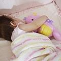 抱著小海馬睡著了>///<