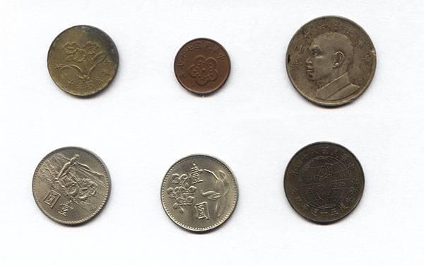 舊錢幣_人頭面