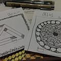 三角形和圓形