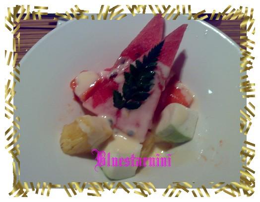 原燒-水果沙拉