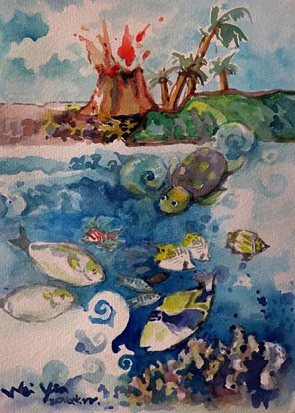 05夏威夷的海底世界與海面上一樣精彩