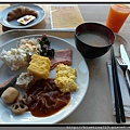 Day4 東京《新宿華盛頓》西式早餐_MANHATTAN TABLE1