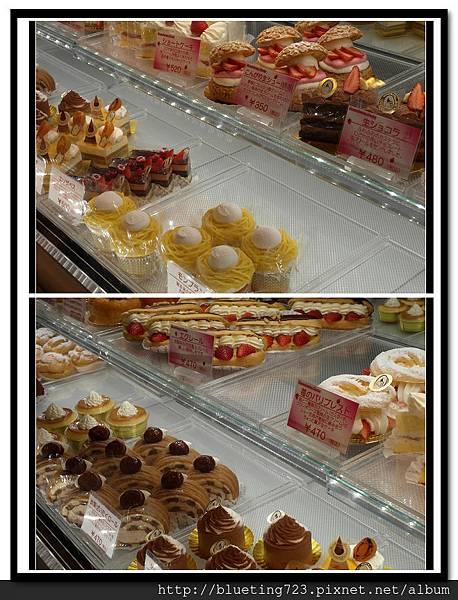 東京自由之丘《MONT BLANC‧モンブラン》蛋糕櫥窗.jpg