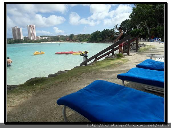 關島《希爾頓飯店Hilton Guam Resort & Spa》海灘 3.jpg