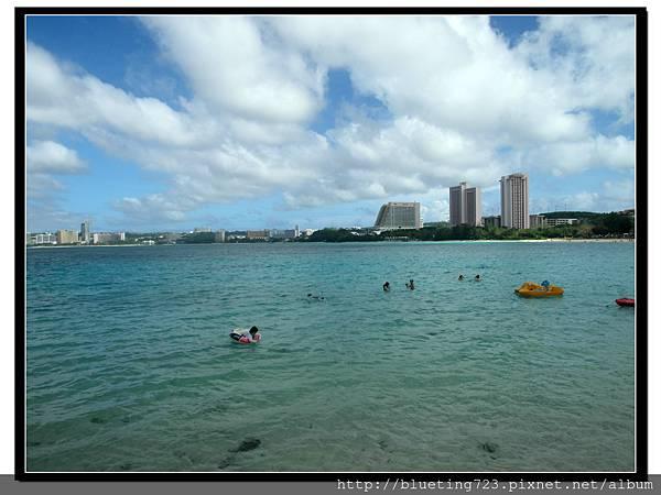 關島《希爾頓飯店Hilton Guam Resort & Spa》海灘 9.jpg