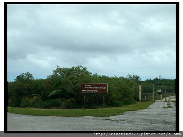 美國關島《瑞提迪恩岬Ritidian Point》Guam National Wildlife Refuge指示牌1.jpg