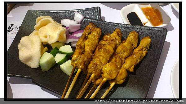 新竹竹北《馬六甲》沙嗲雞肉.JPG