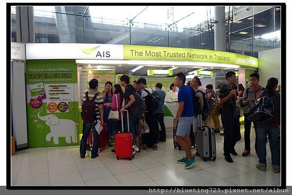 泰國曼谷《蘇汪納蓬機場Suvarnabhumi》AIS.jpg
