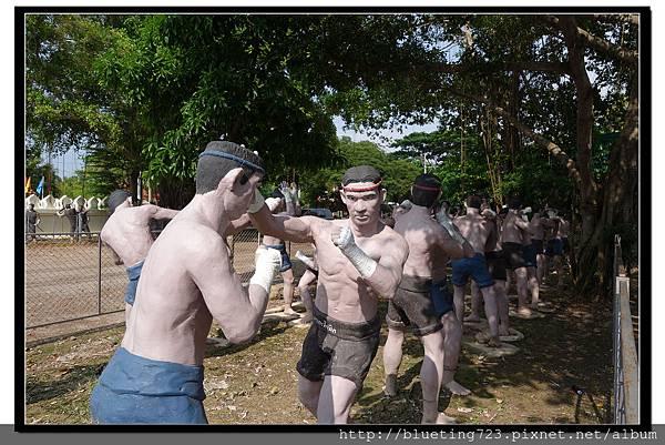 泰國《Amphawa安帕瓦水上市場》五廟遊船_泰拳公園2.jpg