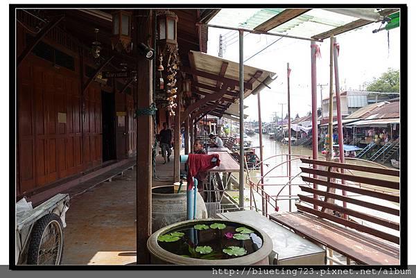 泰國夜功府《Baanrak Amphawa安帕瓦巴安拉克家庭旅館》民宿位置1.jpg