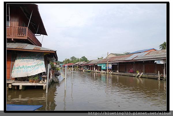 泰國夜功府《Baanrak Amphawa安帕瓦巴安拉克家庭旅館》民宿位置3.jpg