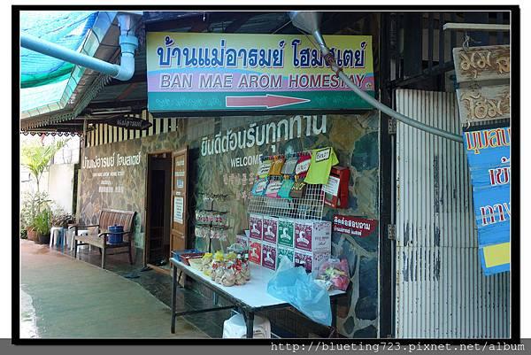 泰國夜功府《Baanrak Amphawa安帕瓦巴安拉克家庭旅館》民宿位置6.jpg