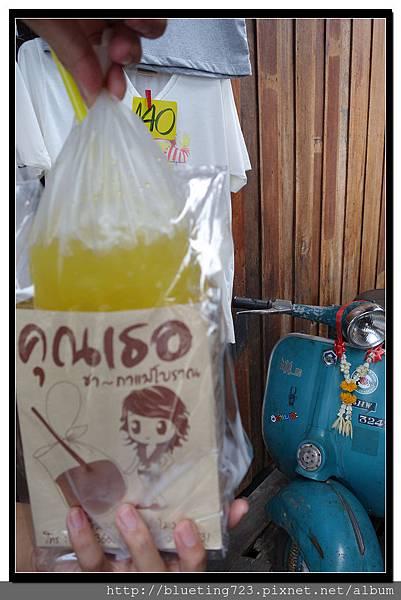 泰國《Amphawa安帕瓦水上市場》紙袋汽水3.jpg