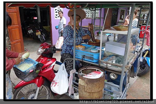 泰國《Amphawa安帕瓦水上市場》涼拌青木瓜1.jpg