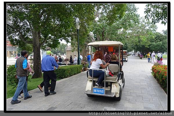 泰國大城府《邦芭茵夏宮Bang Pa-in》3高爾夫球車.jpg