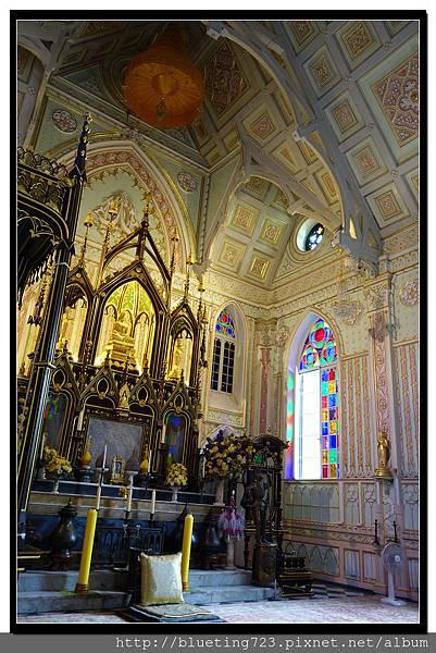 泰國大城府《安娜教堂Wat Niwet Thammaprawat》8.jpg
