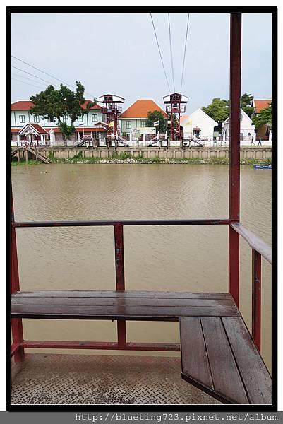 泰國大城府《安娜教堂Wat Niwet Thammaprawat》渡河流籠4.jpg