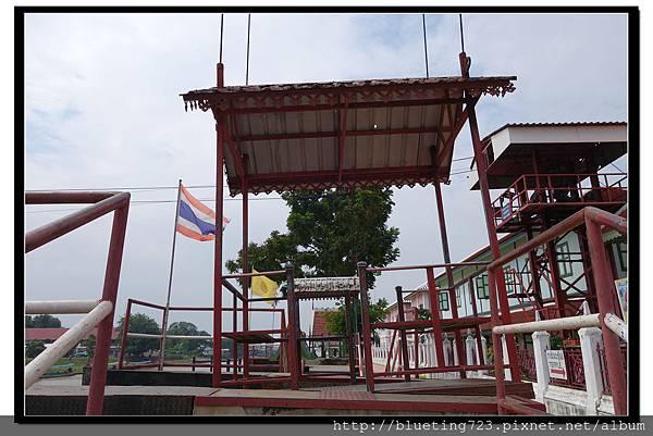 泰國大城府《安娜教堂Wat Niwet Thammaprawat》渡河流籠5.jpg