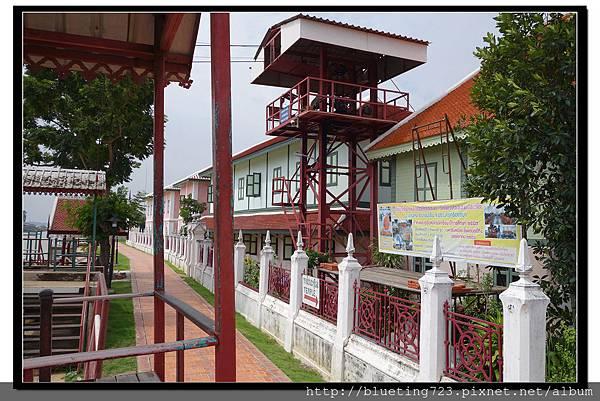 泰國大城府《安娜教堂Wat Niwet Thammaprawat》渡河流籠8.jpg