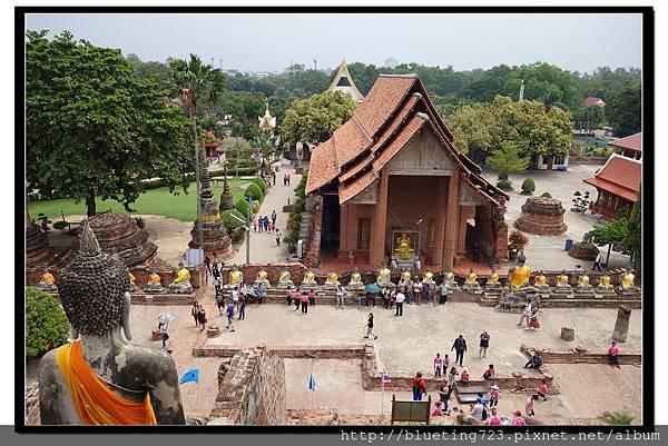 泰國大城府《Ayutthaya大城》崖差蒙空寺WAT YAI CHAI MONGKHOL 10.jpg
