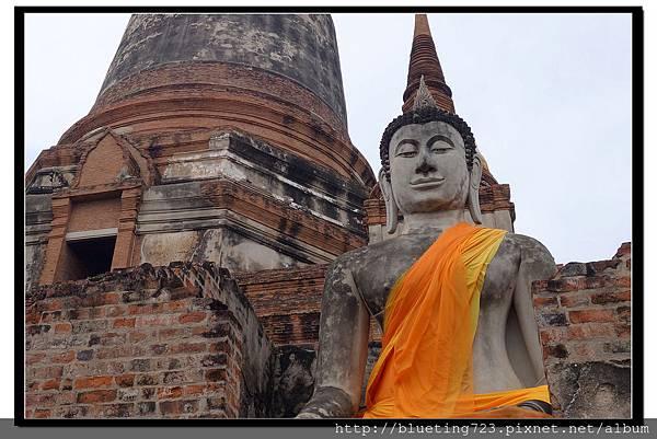 泰國大城府《Ayutthaya大城》崖差蒙空寺WAT YAI CHAI MONGKHOL 14.jpg