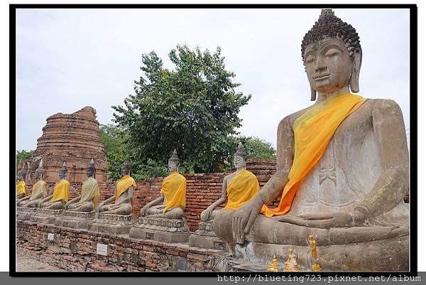 泰國大城府《Ayutthaya大城》崖差蒙空寺WAT YAI CHAI MONGKHOL 16.jpg