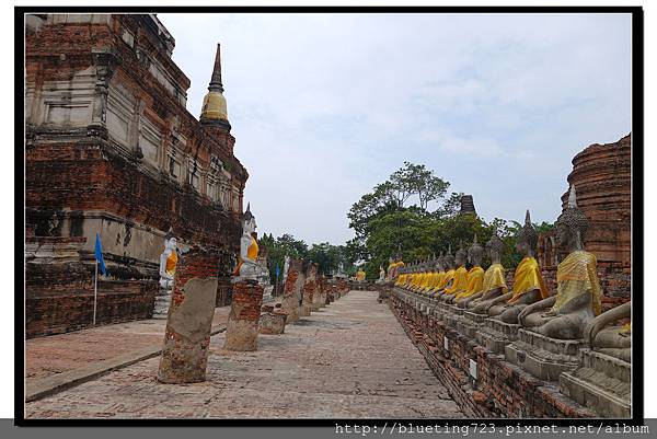 泰國大城府《Ayutthaya大城》崖差蒙空寺WAT YAI CHAI MONGKHOL 17.jpg