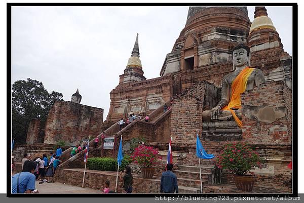 泰國大城府《Ayutthaya大城》崖差蒙空寺WAT YAI CHAI MONGKHOL 18.jpg