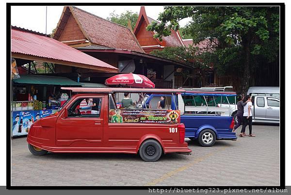 泰國大城府《Ayutthaya大城》嘟嘟車1.jpg