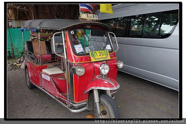 泰國大城府《Ayutthaya大城》嘟嘟車2.jpg