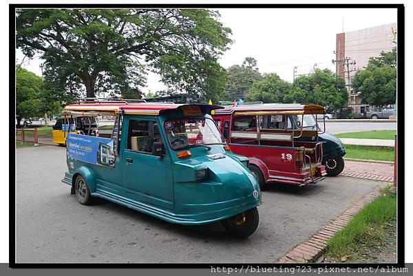 泰國大城府《Ayutthaya大城》嘟嘟車3.jpg