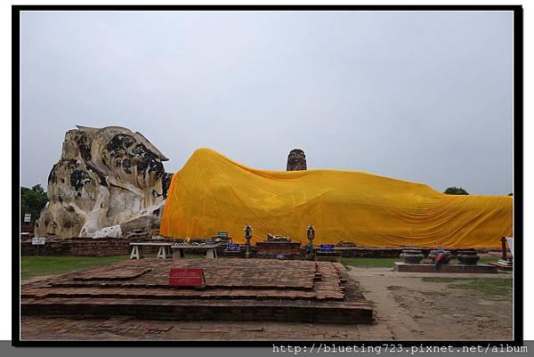 泰國大城府《Ayutthaya大城》羅卡雅蘇塔寺WAT LOKAYA SUTHARAM臥佛1.jpg