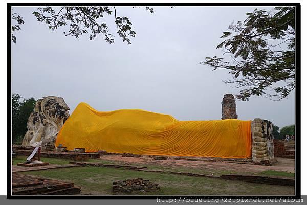 泰國大城府《Ayutthaya大城》羅卡雅蘇塔寺WAT LOKAYA SUTHARAM臥佛2.jpg