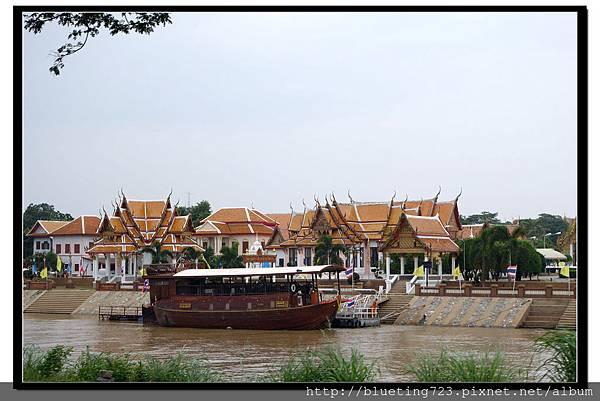 泰國大城府《Ayutthaya大城》護城河2.jpg