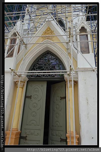泰國大城府《安娜教堂Wat Niwet Thammaprawat》5.jpg