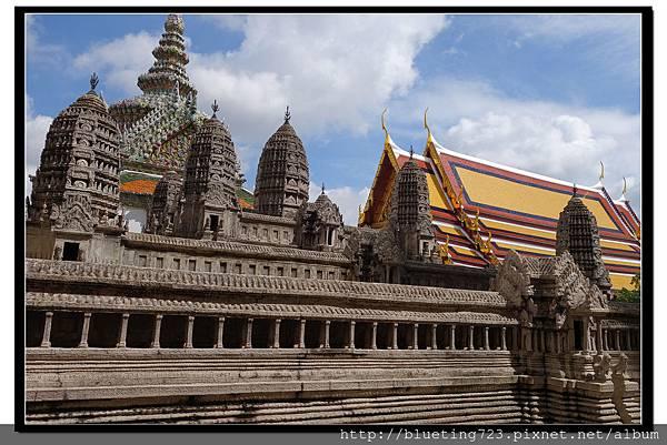 泰國曼谷《大皇宮》吳哥窟模型.jpg