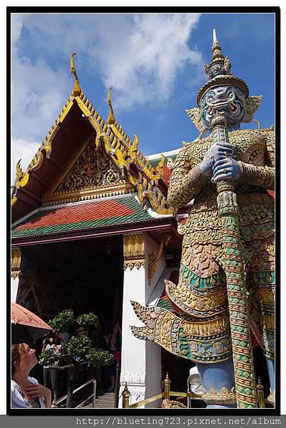 泰國曼谷《大皇宮》夜叉王像.jpg