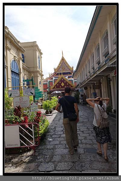 泰國曼谷《大皇宮》售票口與商店.jpg