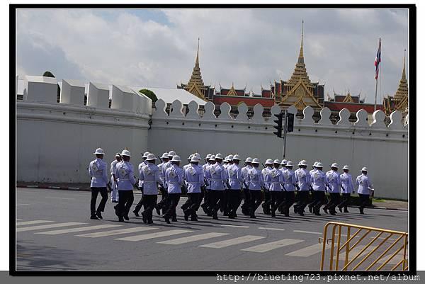 泰國曼谷《大皇宮》衛兵.jpg