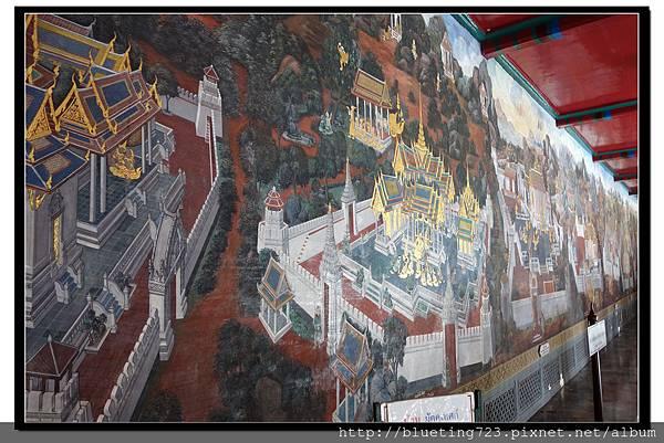 泰國曼谷《大皇宮》走廊壁畫.jpg
