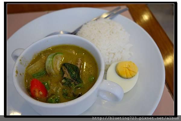 泰國曼谷SIAM《inter餐廳》綠咖哩飯.jpg